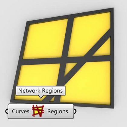 Network Regions Grasshopper3d Tutorial Parakeet Plugin