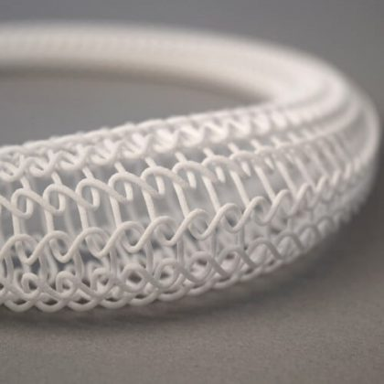 3D Printed Knit Necklace