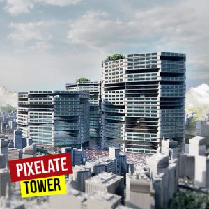 Pixelate Towers Grasshopper3d Definition