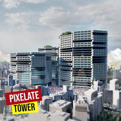 Pixelate Towers Grasshopper3d Definition