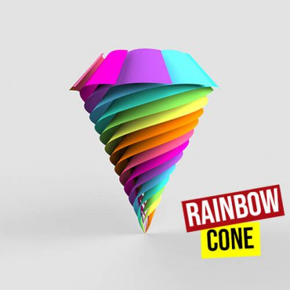 Rainbow Cone Grasshopper3d Definition