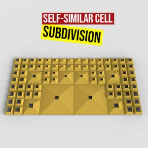 Self Similar Cell Subdivision Grasshopper3d Definition