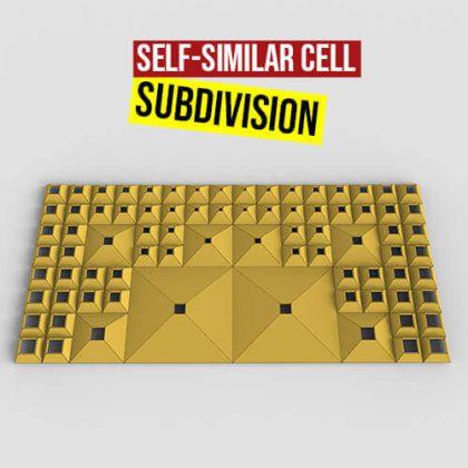 Self Similar Cell Subdivision Grasshopper3d Definition