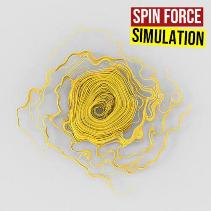 Spin Force Simulation Grasshopper3d Definition NGon Nursery Plugin