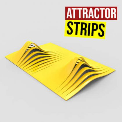 Attractor Strips Grasshopper3d Definition