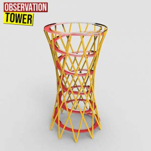 Observation Tower Grasshopper3d Definition Weaverbird Plugin