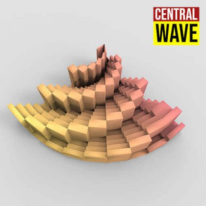 Central Wave Grasshopper3d Definition Paneling Tools