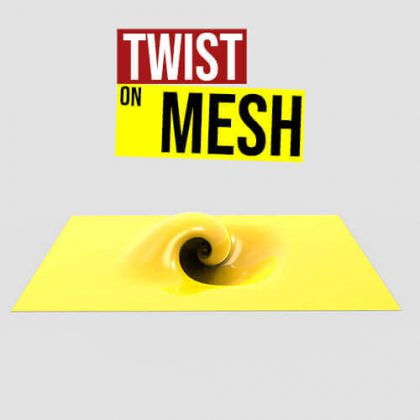 Twist on Mesh Grasshopper3d Definition