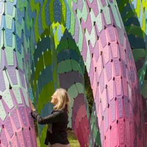 Vaulted Willow Parametric Pavilion