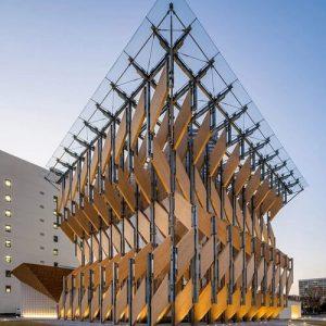 Kenzo Kuma's Parametric Pavilion
