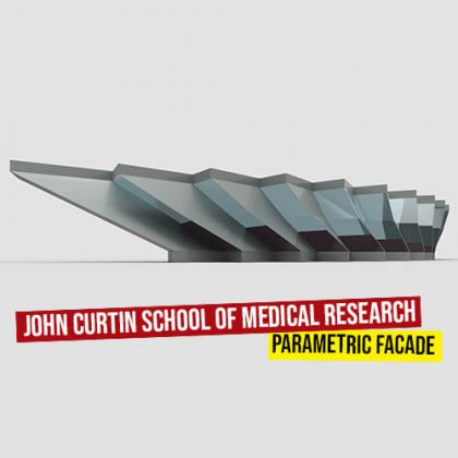 John Curtin School facade grasshopper3d definition