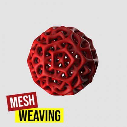 Mesh Weave Grasshopper3d Definition Meshedit Weaverbird plugin