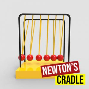 Newton's Cradle Grasshopper3d Definition Kangaroo Plugin