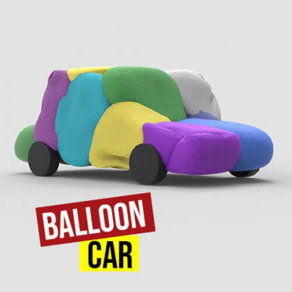 Balloon Car Grasshopper3d Definition Weaverbird Kangaroo Plugin