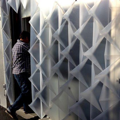 Interactive, Temporary Building Façade