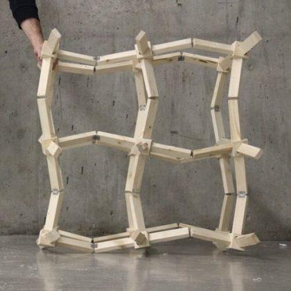 A.U.X.E. Chair auxetic furniture