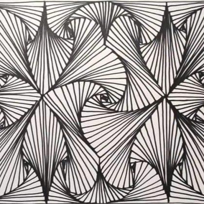 Satisfying Drawing Pattern