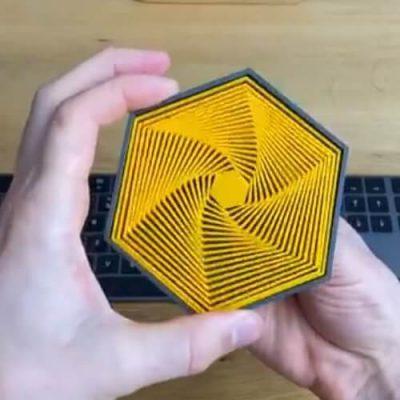 3D Printed Hexagons