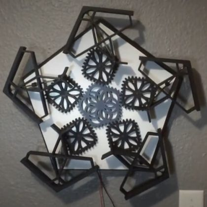 3d Printed Kinetic Sculpture