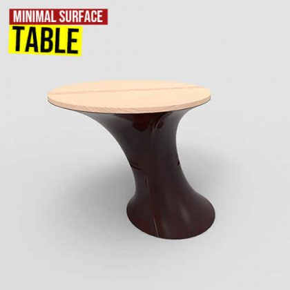 Minimal Surface Table Grasshopper3d Definition Kangaroo Weaverbird plugin