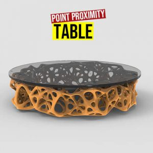 Point Proximity Table Grasshopper3d Definition Weaverbird Plugin