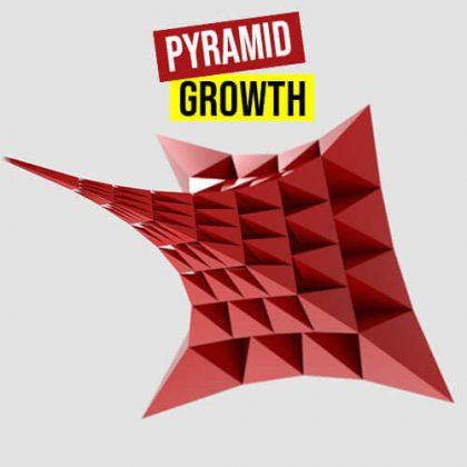 Pyramid Growth Grasshopper3d Definition Lunchbox Anemone Plugin
