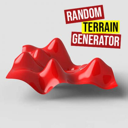 Random Terrain Generator Grasshopper3d Definition