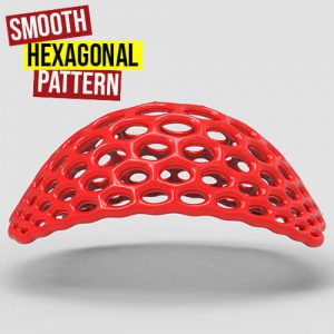 Smooth Hexagonal Pattern Grasshopper3d Definition