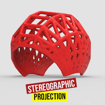 Stereographic Projection Grasshopper3d Definition Dendro Plugin