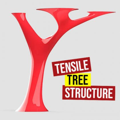 Tensile Tree Structure Grasshopper3d Definition