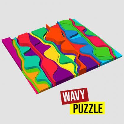 Wavy Puzzle Grasshopper3d Definition