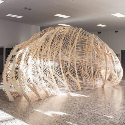Weaving Enclosure