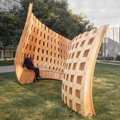 Wander Wood Pavilion
