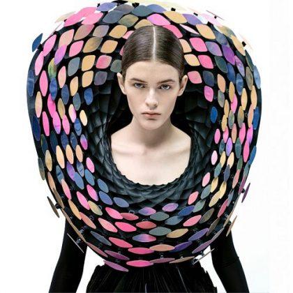 Iridescence Interactive Collar
