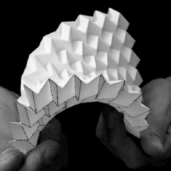 Bio-Origami Form finding and evaluation