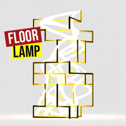 Floor Lamp Grasshopper3d weaverbird plugin