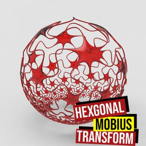 Hexagonal Mobius Transform Grasshopper3d Kangaroo Parakeet