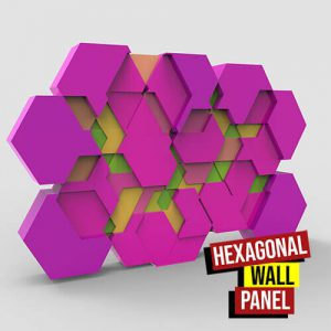 Hexagonal Wall Panel Grasshopper3d Parakeet