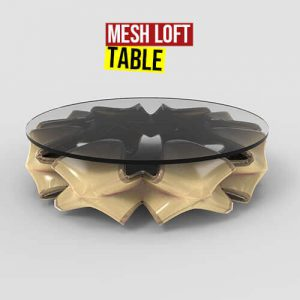 Mesh Loft Table Grasshopper3d Weaverbird plugin