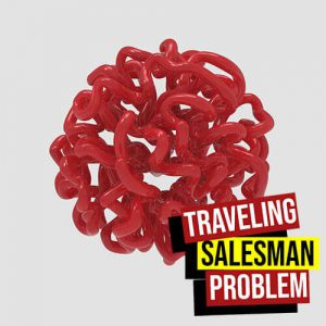 Traveling Salesman Problem Grasshopper3d LeafVein Plugin