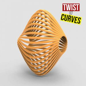 Twist of Curves Grasshopper3d Weaverbird Plugin