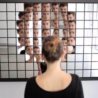 Fragments interactive installation