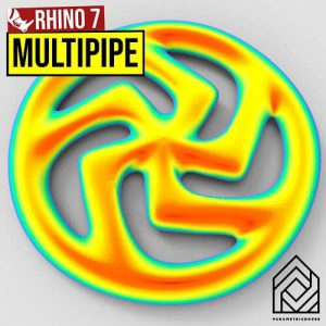 Rhino 7 Multipipe Grasshopper3d Tutorial