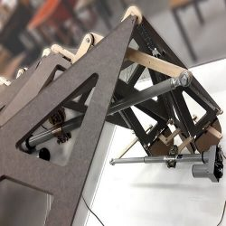 Origami Surfaces for Kinetic Architecture