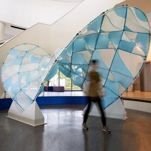 Knit Patterned Flow Pavilion
