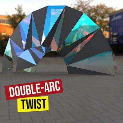 Double Arc Twist Grasshopper3d