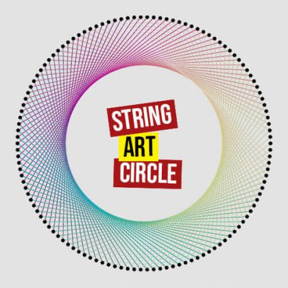 String Art Circle grasshopper3d