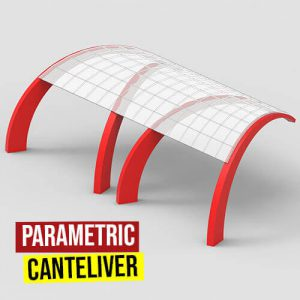 Parametric Cantilever Grasshopper3d