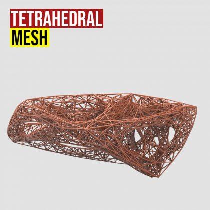 Tetrahedral Mesh Grasshopper3d
