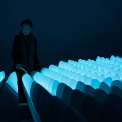 Wavelet Interactive Art Installation